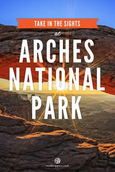 With over 2,000 arches and rock formations, Arches National Park is an outdoors enthusiast's Garden of Eden.