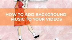 Learn how to import music and fonts with the InShot App. In this tutorial and video walkthrough, you'll see the steps to add background music to your videos . Future Videos, Video Editing Apps, Mobile Video, Custom Fonts, All Video, Photoshop Tutorial, You Videos, Tutorials, Ads