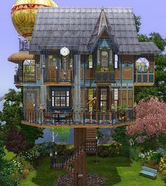 Sims 3 house, lot, residential, furniture