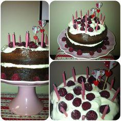Bday Cake: red velvet & mascarpone