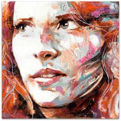 Colleen Hoover, Ryan Cooper, Canvas Prints, Art Prints, Portrait, Auburn, All Art, Les Oeuvres, Watercolor Paintings
