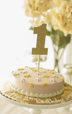 twinkle twinkle little star, party, first birthday, smash cake, pink and gold