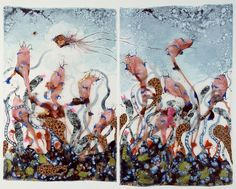 A Fantastic Journey Into the Mind of Collage Artist Wangechi Mutu The acclaimed mixed-media creator on colonialism, women warriors, and the consumerism that pays her bills. Kenyan Artists, Collage Artists, Collages, African Art, African Women, Contemporary Artists, Art Museum, Art Gallery, Creative
