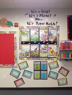 Teaming Up To Teach: Superhero Classroom