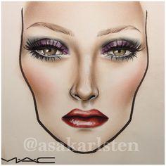 How it turned out! #voila #mac #maccosmetics - asakarlsten @ Instagram Web Interface - 5th village