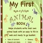 This was designed to help guide young writer's through writing their own non-fiction book about animals. It includes a web that has already been pa...