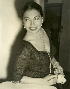 Ava Gardner, London 1955