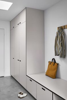 Wardrope and entrance solution made by &SHUFL. Inner cabinet: Ikea Wardrope and entrance solution made by &SHUFL. Hall Wardrobe, Wardrobe Design Bedroom, Hallway Decorating, Decorating Blogs, Ikea Hall, Memory Wall, Ikea Inspiration, House Entrance, Entrance Halls