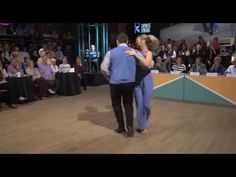 """Brennar and Autumn dance the Carolina Shag to Mitch Ryder and the Detroit Wheels' song """"Devil With the Blue Dress On,"""" for what proved to be the winning -- the championship -- performance in the National Shag Dance Championships 2015."""