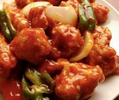 Sweet & Sour Pork Stir-Fry Porksgiving 2014 - on the menu Pork Recipes, Asian Recipes, Mexican Food Recipes, Chicken Recipes, Cooking Recipes, Bolivian Food, Pollo Recipe, Pork Stir Fry, Good Food