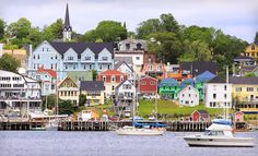 Lunenburg, Nova Scotia - I am told it is one of the most beautiful places in all of Canada!