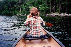 Canoe trip down the