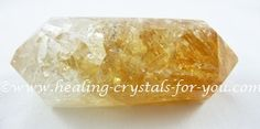 Citrine Crystal is a November birthstone and a strong manifestation stone