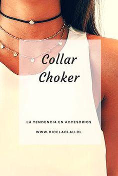 El collar Choker renace desde los noventa. ¡Mira la tendencia!