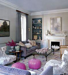 En primavera 2016 decorar con Lilac Gray es tendencia en decoración #lilacgray #pantone #primavera16 #spring16