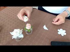creare teneri boccioli con fustella Flower - YouTube