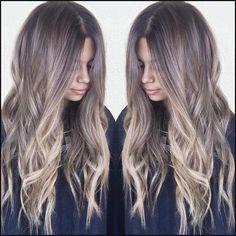 Caramel babylights by habit stylist @hairbybrittanyy | Hair ideas ... | Einfache Frisuren
