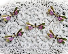 Reneabouquets Tiny Treasures Dragonfly Set by Reneabouquets