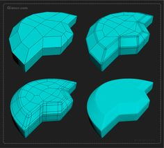 Essential Tips Hard Surface (Small details) – Part 02 – Giancr
