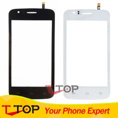 Wholesale Replacement For Explay Atom Touch Screen Digitizer Front Glass Panel 10PCS/Lot #Affiliate
