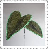 Ravelry: Heart Leaf pattern by Claudia Giardina