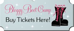 Think I want to go to this Bloggy Boot Camp in Las Vegas...what do you think?