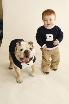 Butler's Blue2 - the matching sweaters are so cute