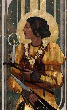 Josephine Montilyet Tarot fancardGood news guys! I have a Society6 shop now! And this artwork is currently available as a print!Go and check out this LINK! Be sure to share and reblog! Arigatouuu~~