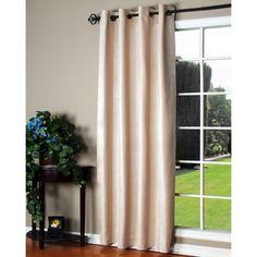 Manhattan Striped 84-inch Curtain Panel Pair