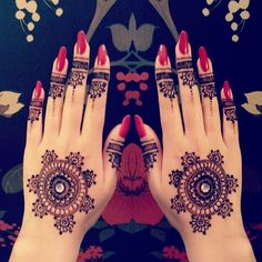 Style Mantra : #Mehendi #MehndiDesign  Source : Pinterest