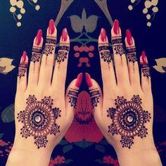 Style Mantra : #Mehendi #MehndiDesign  Source : Pinterest