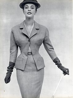 Christian Dior 1953 Suit,