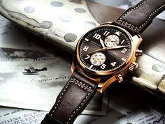 IWC Pilot's Watch Chronograph Edition Antoine de Saint Exupéry