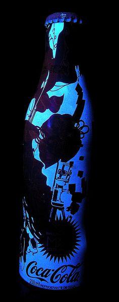 2007 Coca-Cola M5 Spoleto Special Series Black Light 1 Bottle