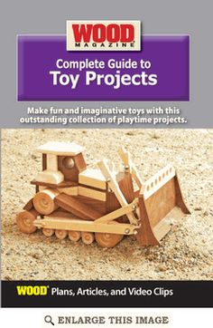 Complete Guide to Toy Projects, Woodworking DVD | WOOD Store