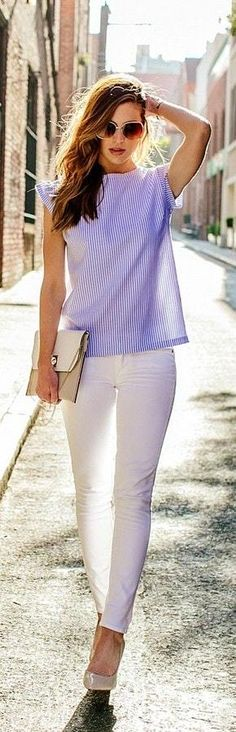 Summer Street Style Casual Outfits 10