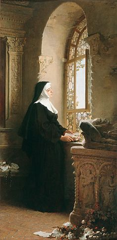 https://es.pinterest.com/SoulCobbler/art-~-a-room-with-a-view/ Gustav Adolf Kuntz - Greeting from the world