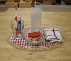 Tooth brushing (Trillium Montessori)