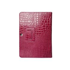 10.1 Crocodile Leather Case Stand Cover for Samsung Galaxy Tab 2 P5100/P5110 - Rose US$16.99