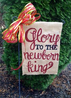 Christmas Embroidered Garden Flag By Sewspecialonline On Etsy |  Personalized Items | Pinterest | Flags, Gardens And Etsy