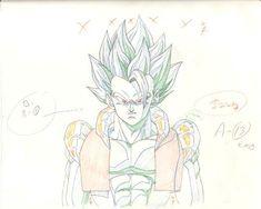 animated dragon_ball_series dragon_ball_z dragon_ball_z:_shin_butouden genga masahiro_shimanuki rotation