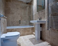 Budget, Affordable Small Contemporary Bathroom Design Ideas, Renovations & Photos with Beige Cabinets