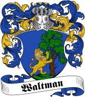 Waltman Coat of Arms www.4crests.com #coatofarms #familycrest #familycrests…