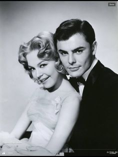 Sandra Dee and John Saxon made three films together: The Reluctant Debutante (1958), The Restless Years (1958), and Portrait in Black (1960).