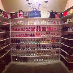 Delicieux Large Shoe Collection With Some Pretty Nice Bags, Too. #closets