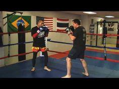Basic Muay Thai Combination - YouTube Muay Thai Training, Mma Training, Aikido, Viking Workout, Muay Thai Techniques, Muay Thai Kicks, Combat Training, Mma Boxing, Women Boxing
