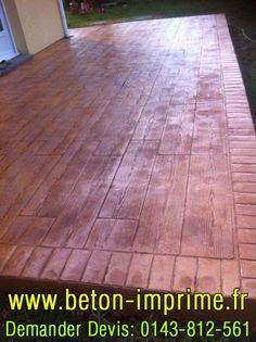 Beton Imprimé Imitation Bois #beton #imprime #bois Hardwood Floors, Flooring, Woodwind Instrument, Wood Floor Tiles, Hardwood Floor, Paving Stones, Wood Flooring, Floor, Floors