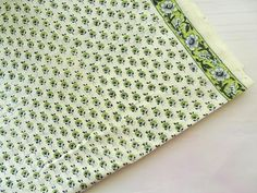 Small print  soft Indian cotton fabric, lightweight summer cotton fabric for sewing, quilt  backing, crafting, half yard