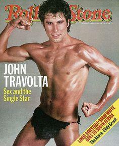 John Travolta - Rolling Stone (1983 Aug)