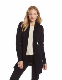 Calvin Klein Women's Textured Trim Flyaway Sweater #women #flower #calvinklein #fashion #trimflyaway #sweater